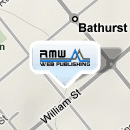 RMW Web Publishing Office location shown on map